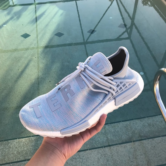 outlet store 57301 50497 Adidas Human Races NMD Pharrell x BBC Cotton Candy